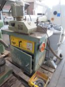 Wilson FV spindle moulder 3ph with Wadkin BLG8 power feed.