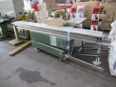 Wadkin CP 320 3.2mm panelsaw with scorer no: 936930 415v
