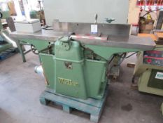 Wadkin heavy duty surface planer S/N RZ325 440v