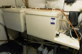 Hot Water Cask Wash with Cold Water Rinse