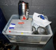 Mini Kegs & Equipment to two crates
