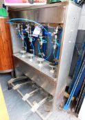 Stainless Steel Four Head Bottling Machine
