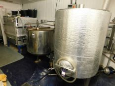 Micro Brewery plant comprising Kettle (1000Ltr Capacity 3x Heaters Automatic & Manual) Transfer