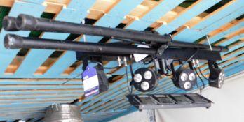 Equinox Microbar Quad System, Tripod Stand, Foot Pedal