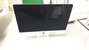 Apple iMac (Retina 4K, 21.5-inch, Late 2019) Model A2116, S/N DGKZ8HAPJWF1 (without power lead and m
