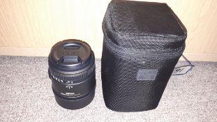 Sigma 70mm 1:2.8 DG Macro camera lens