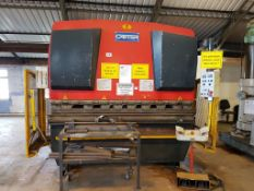 Carter 100T x 2500mm Hydraulic Press Brake