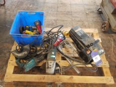 Pallet of assorted Electrical Tools (spares/repairs)