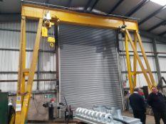 20 Tonnes capacity A-Frame Lifting Gantry & Hoists