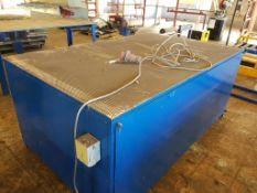 Grinding/ Air Bench 1250 x 2100mm