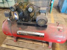 Airmate Twin Cylinder Receiver Mounted Air Compressor