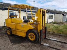 Henley Huskey 6 tonnes Low Mast Diesel Forklift Truck