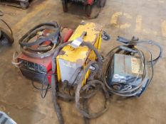Murex Watercooler and 2x Wire Feed Unit (spares/repair)