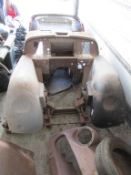 Triumph TR3A Body shell/ chassis. C/W Parts and V5