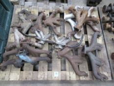 Pallet of Triumph TR2/6 Exhaust Manifolds