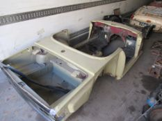 Triumph TR6 Body shell/chassis. C/W Engine and parts