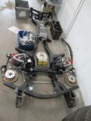 Triumph GT6 1971 parts- includes chassis, engine block, springs etc.