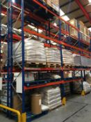 43 bays of PSS Pallet racking. 2106.