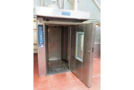 Polin Gas Rotary Rack oven.