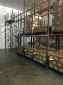 Dexion and Storax mixed bundle of racking in cold store