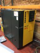 HPC Kaeser 34T SFC Air Compressor 2016. Last Service Nov 2020 and a 2003 Ter-mec 500 Litre Receiving