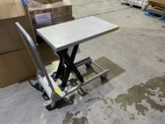 Advanced 150kg Capacity Treadle Operated Lifting Trolley