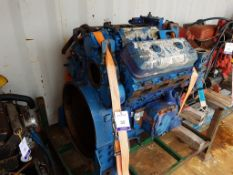 GM Detroit 6V 71 Diesel Engine, used