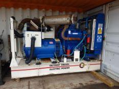 GM Detroit 350KVA diesel standby generator