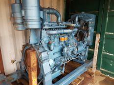 Rolls Royce Industrial Diesel Power Pack, Ex Standby