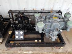 Dunlop Hi Pressure Compressor with Enfield Twin Cylinder Engine