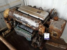 GM Detroit 4 cylinder Marine Diesel and Gearbox, used
