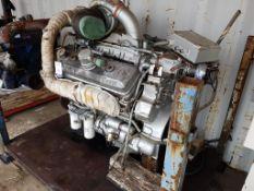 GM Detroit 8V92 V8 Industrial Diesel Engine