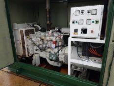 Cummins 129kva diesel standby generator