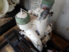 Dunlop Hi Pressure Compressor with Enfield Single Cylinder Engine