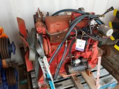 GM Detroit 3 cylinder Industrial Engine and Clutch