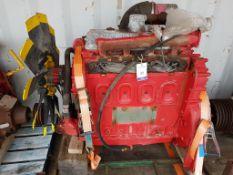 GM Detroit 4 cylinder Industrial Diesel Engine, used