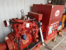 Iveco/Firedriver 4 cylinder Diesel Fire Pump
