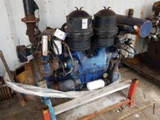 GM Detroit Marine Diesel Engine and Clutch, used