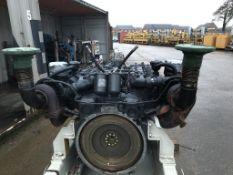 Mercedes V12 Diesel Engine