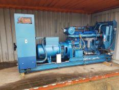 Dorman 210KVA diesel standby generator