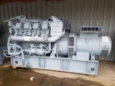 Dorman 470KVA diesel standby generator