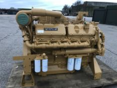 Caterpillar 3412T 900HP Industrial Diesel Engine
