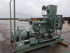 Lister 80kVA Skid Mounted Diesel Standby Generator