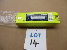 Defibrilator battery