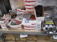 Assorted abrasives