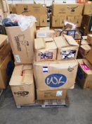 12 x Boxes of various soft toys, to pallet