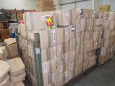 Approximately 60 x boxes of party bags, to stillage. *Stillage not included*