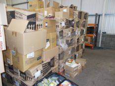 Large quantity of assorted paper bags, to 3 x pallets. Various patterned / themed bags