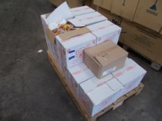 16 x Boxes of Tubz sweets, to pallet. Purchasers responsibility to check the dates prior to bidding,