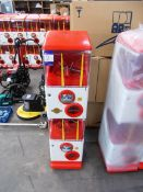 50 x Laiv coin slot and twist operated mobile games pod / machine. Configured as one machine on